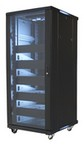 Video Mount Products EREN27 27 Space Rack Enclosure  W/5 Shelves