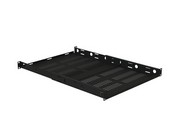 VMP ER-S1U4P Vented One Space Four Post Rack Shelk