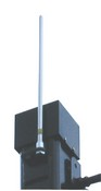 VMP PV1 Lightning Rod For Free-Standing Poles