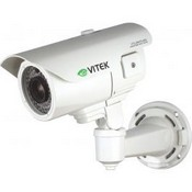 Vitek VTC-IRE70/650IP2 Long-Range Vandal-Resistant Day/Night IP Bullet Camera, 70 IR LEDs