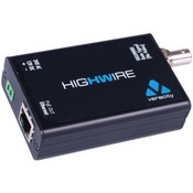Veracity VHWHWPO Highwire Ethernet over Coax Converter with PoE