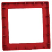 Cooper Wheelock ISP2-R Surface Adapter Plate Red
