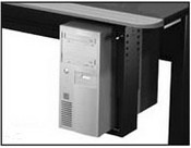 Winsted 46260 Pullout Swivel CPU Holder