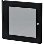 Winsted 88354  Lift-Off Locking Plexiglass Door for 14U Racks (Black)