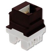 Legrand WP3458BR CAT5E RJ45 T568 A/B Connector Keyed Brown