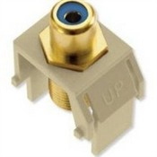 Legrand WP3464IV Blue RCA to F-Connector Ivory