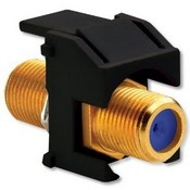 Legrand WP3482BK Self-Terminating F-Connector Black