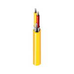 Belden 83950 0101000 | Type JX Thermocouple, 1 Pr #20 Str, FEP Ins Wht, Red, Blk FEP Jkt, 300V CL3P 200C PLTC SUN RES