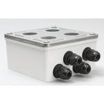 Belden E200102 009S1 | Accessories, DataTuff Industrial Surface Mount Box, 2-Port, IP67