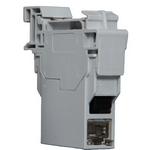 Belden E100623 000S1 | Connectors, DataTuff Industrial Din Rail Modular Coupler, Cat6, FTP