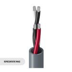 Belden 9156 0601000   Electronic, 2 Pr #18 Str TC, PVC Ins, PVC Jkt, CMG
