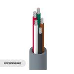 Belden 8445 0605000   Electronic, 5 C #22 Str TC, PVC Ins, PVC Jkt, CMG