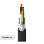 Belden 8453 010500   Portable Cordage, 3 C #18 Str TC, EPDM Ins, Rubber Jkt, UL Type SV