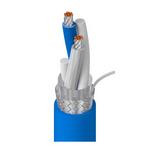 Belden 89463 0062500 | Blue Hose, 1 Pr #20 Str TC, FEP Ins Blu, Clr, Foil+TC Brd, FEP Jkt, CMP