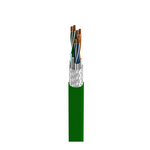 Belden 7202A X4P1000   MachFlex, 3 Pr #24 Str BC, PO Ins, OS+TC Brd, PVC Jkt, CM