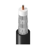 Belden 3092A 0105000 | ControlBus, Coax RG-6, #18 Sol BCCS, FPE Ins, QUAD AL Shld, PVC Jkt, CMR