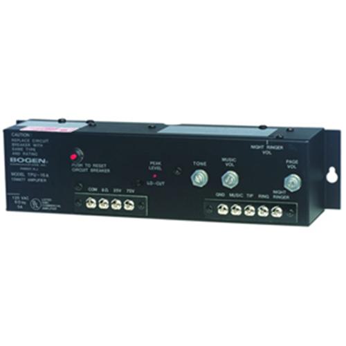 Bogen Communications TPU15A   Amplifier 15 Watt Telephone