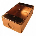 Bosch D372B | Surface BackBox, Brass Finish