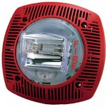 Bosch G-SSPK24WLPR | Wall Speaker/strobe 15-110cd 24V, Red