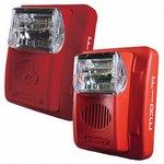 Bosch GEC3-12WR | Wall Horn/Strobe, 15-75cd 12V, Red