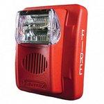 Bosch GEC3-24WR | Wall Horn/Strobe, 15-110cd 24V, Red