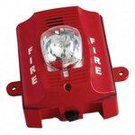 Bosch SS-P2RK | Wall Horn/strobe, Outdoor 2-wire, Red