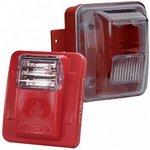 Bosch WGES24-75WR | Wall Strobe, Weatherproof 75cd, 24V, Red