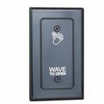 Camden Door Controls CM-324 | SureWave Touchless Switch, Single Relay, Adjustable Time Delay
