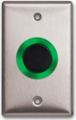 Camden Door Controls CM-333 | SureWave Wireless Touchless Switch, Battery Powered, 1 Relay