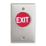 Camden Door Controls CM-4020R - CONTROLLER - MUSHRM EX BTN N/O N/C MOM-RED