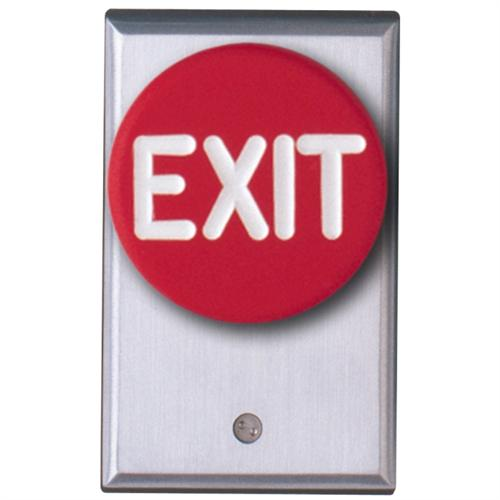 Camden Door Controls CM-5020RE - CONTROLLER - RED PALM SWITCH, EXIT, ONE