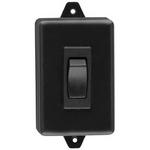 Camden Door Controls CM-830 | Rocker Switch, Black Plastic, SPDT Momentary