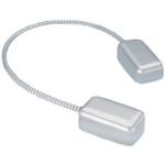 Camden Door Controls CM-PT38 | Heavy Duty Power Transfer Cable, Aluminum Endcaps, 3/8