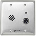 Camden Door Controls CM-CX-DA300 | Door Alarm, Relay, Reset Key, Double Gang, 12-24 VAC/DC