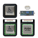 Camden Door Controls CX-WC13XFM - ELEC PUSHB SWCH - FLUSH MOUNT AURA ILLUMINATED