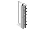 Chatsworth 40098-703   CCS - EFX Combination Cabling Section Extended Fingers
