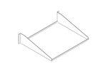 Chatsworth 40750-719   Standard Single-Sided Steel Shelf