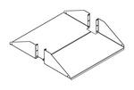 Chatsworth 40751-719   Standard Double-Sided Steel Shelf