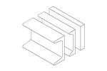 Chatsworth 10628-102   Auxiliary Framing Channel 3/16