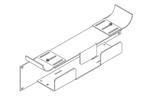 Chatsworth 12187-723 | Lower Tray