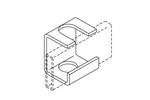 Chatsworth 10607-002   Slotted Support Bracket 3/8