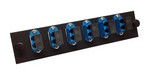 Commscope 1374463-1   Fiber Optic Adapter Pack, singlemode, LC, duplex, 12-port, blue