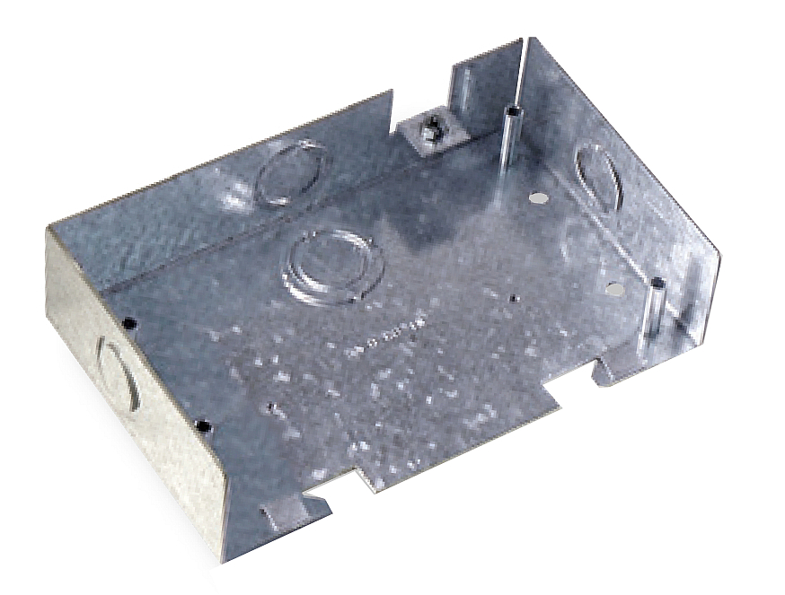 Commscope 1375033-1   Undercarpet Surface Wall Mounting Box