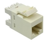 Commscope 1375192-1 | SL110 Series Modular Jack, 8-position, RJ11, category 3, unshielded, without dust cover, almond