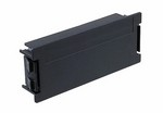 Commscope 1479698-1   Universal Connectivity Platform (UCP) Blank Module, used to close unused cut-outs in panels, black