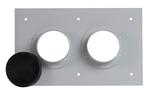 Commscope 204673-2A | 2 Port Entrance Panel, 1 x 2