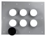 Commscope 204673-6 | 6 Port Entrance Panel, 2 x 3