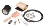 Commscope 241545 | Standard Grounding Kit for 1/2 in corrugated coaxial cable and elliptical waveguide 180 and 220
