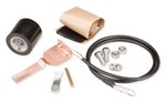 Commscope 241088-3 | Standard Grounding Kit for 1-1/4 in corrugated coaxial cable and elliptical waveguide 64 and 77