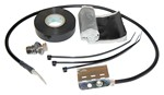 Commscope 242948 | Standard Grounding Kit for 1/4 in and 3/8 in corrugated and braided coaxial cable, FSJ4-50B cable, and elliptical waveguide 240 and 380